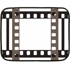Frame Decorative Movie Cinema Fleece Blanket (Mini)