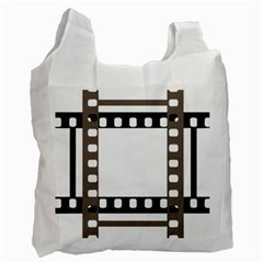 Frame Decorative Movie Cinema Recycle Bag (two Side)