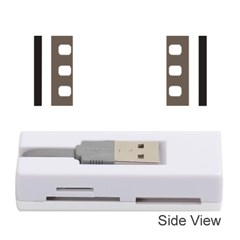 Frame Decorative Movie Cinema Memory Card Reader (stick)