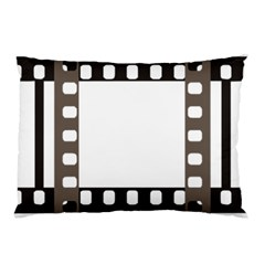 Frame Decorative Movie Cinema Pillow Case (Two Sides)