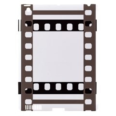 Frame Decorative Movie Cinema Apple iPad 3/4 Hardshell Case (Compatible with Smart Cover)