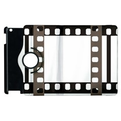 Frame Decorative Movie Cinema Apple Ipad 2 Flip 360 Case