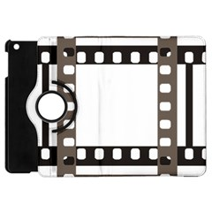 Frame Decorative Movie Cinema Apple Ipad Mini Flip 360 Case