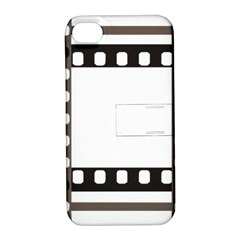 Frame Decorative Movie Cinema Apple Iphone 4/4s Hardshell Case With Stand