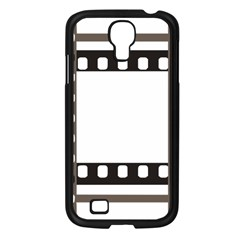 Frame Decorative Movie Cinema Samsung Galaxy S4 I9500/ I9505 Case (black)