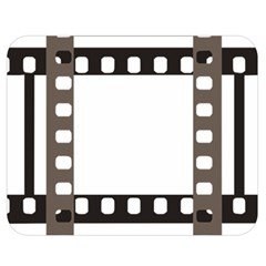 Frame Decorative Movie Cinema Double Sided Flano Blanket (Medium)