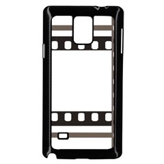 Frame Decorative Movie Cinema Samsung Galaxy Note 4 Case (Black)