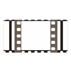 Frame Decorative Movie Cinema Satin Shawl