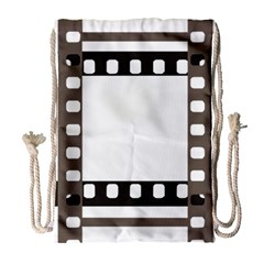 Frame Decorative Movie Cinema Drawstring Bag (Large)