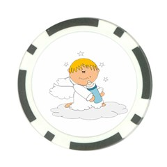 Angel Baby Bottle Cute Sweet Poker Chip Card Guard