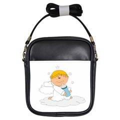 Angel Baby Bottle Cute Sweet Girls Sling Bags
