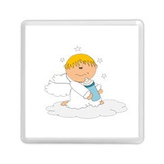 Angel Baby Bottle Cute Sweet Memory Card Reader (square)