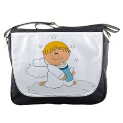 Angel Baby Bottle Cute Sweet Messenger Bags