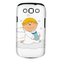 Angel Baby Bottle Cute Sweet Samsung Galaxy S III Classic Hardshell Case (PC+Silicone)