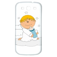 Angel Baby Bottle Cute Sweet Samsung Galaxy S3 S III Classic Hardshell Back Case