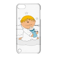 Angel Baby Bottle Cute Sweet Apple iPod Touch 5 Hardshell Case with Stand