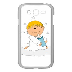 Angel Baby Bottle Cute Sweet Samsung Galaxy Grand Duos I9082 Case (white)
