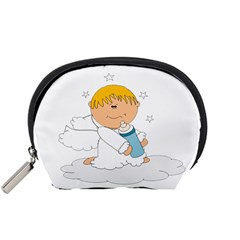 Angel Baby Bottle Cute Sweet Accessory Pouches (small)