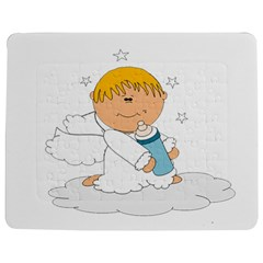 Angel Baby Bottle Cute Sweet Jigsaw Puzzle Photo Stand (rectangular)