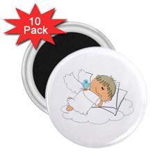 Sweet Dreams Angel Baby Cartoon 2 25  Magnets (10 Pack)