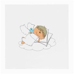 Sweet Dreams Angel Baby Cartoon Medium Glasses Cloth (2 Side)