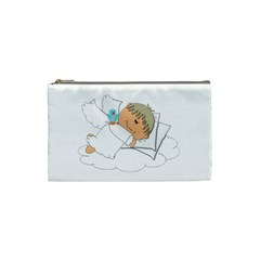 Sweet Dreams Angel Baby Cartoon Cosmetic Bag (Small)