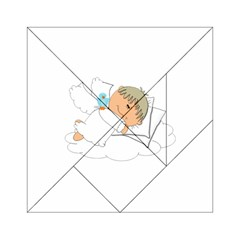 Sweet Dreams Angel Baby Cartoon Acrylic Tangram Puzzle (6  x 6 )