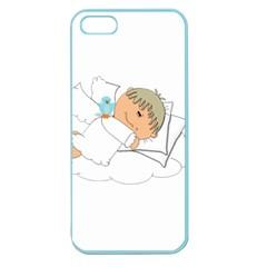 Sweet Dreams Angel Baby Cartoon Apple Seamless iPhone 5 Case (Color)