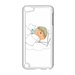 Sweet Dreams Angel Baby Cartoon Apple Ipod Touch 5 Case (white)