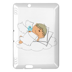 Sweet Dreams Angel Baby Cartoon Kindle Fire HDX Hardshell Case