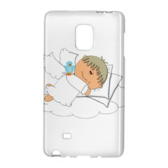 Sweet Dreams Angel Baby Cartoon Galaxy Note Edge