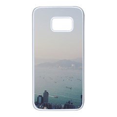 Hong Kong View Samsung Galaxy S7 White Seamless Case