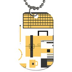 Web Design Mockup Web Developer Dog Tag (One Side)