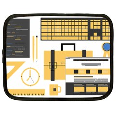 Web Design Mockup Web Developer Netbook Case (xxl)