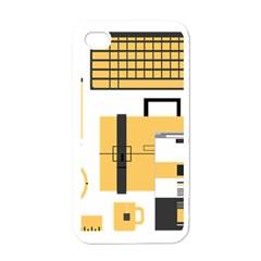 Web Design Mockup Web Developer Apple iPhone 4 Case (White)