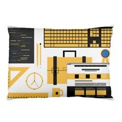 Web Design Mockup Web Developer Pillow Case (two Sides)