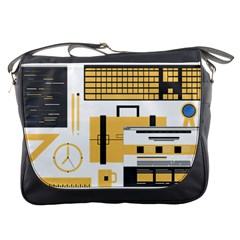Web Design Mockup Web Developer Messenger Bags
