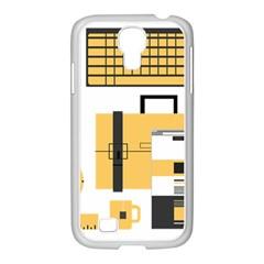 Web Design Mockup Web Developer Samsung Galaxy S4 I9500/ I9505 Case (white)