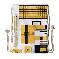 Web Design Mockup Web Developer Drawstring Bag (Large)
