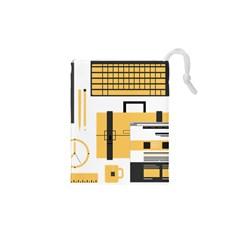 Web Design Mockup Web Developer Drawstring Pouches (XS)