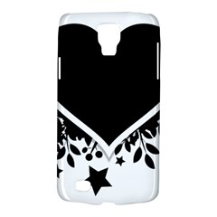 Silhouette Heart Black Design Galaxy S4 Active