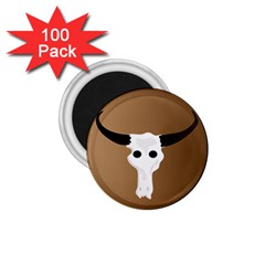 Logo The Cow Animals 1.75  Magnets (100 pack)