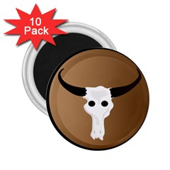 Logo The Cow Animals 2 25  Magnets (10 Pack)