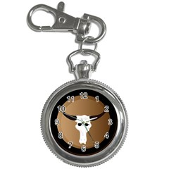 Logo The Cow Animals Key Chain Watches