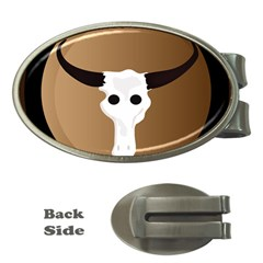 Logo The Cow Animals Money Clips (oval)