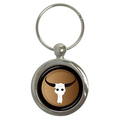 Logo The Cow Animals Key Chains (Round)