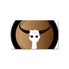Logo The Cow Animals Magnet (name Card)