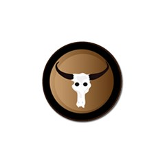 Logo The Cow Animals Golf Ball Marker (4 Pack)