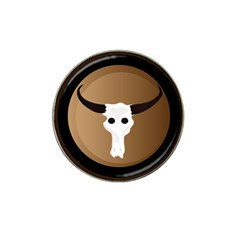 Logo The Cow Animals Hat Clip Ball Marker (4 Pack)