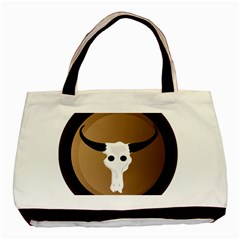 Logo The Cow Animals Basic Tote Bag